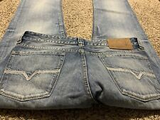 GUESS JEANS DESMOND RELAXED STRAIGHT DESIGNER MEN'S JEANS SIZE 32X34