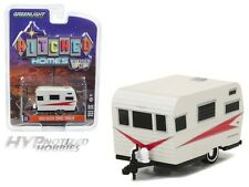 GREENLIGHT 1:64 HITCHED HOMES SERIES 1 1959 SIESTA TRAVEL TRAILER  34010-B