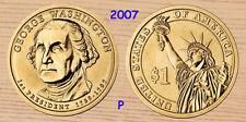 2007 P  George Washington Presidential Dollar 1-Coin