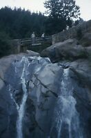 35mm Slide Vintage 1950s Helen Hunt Falls Colorado Waterfall Red Kodachrome