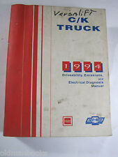 C/K CHEVY TRUCK 1994 DRIVEABILITY EMISSIONS ELECTRICAL DIAGNOSIS MANUAL  GMC