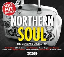 NORTHERN SOUL - EDDIE HOLLAND, THE DELLS,THE VALENTINES,STEVIE WONDER 5 CD NEUF
