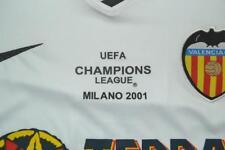 Camiseta retro VALENCIA FINAL 2001 MENDIETA jersey trikot maglia envío catálogo
