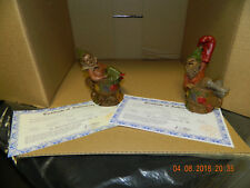 """Tom Clark """" Judy And Punch """" Gnomes"""