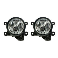 Pair Front Right & Left Fog Light # 05182426AA For Jeep Cherokee Fiat 500 500L