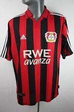 Bayer 04 Leverkusen 2001 2002 Home Adidas Football Shirt Trikot Mens Large F622