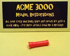 Popeye Paddle Wagon Corgi 802 Reproduction Repro Red Plastic Chimney Pipe