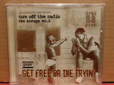 Dead Prez - Turn Off the Radio Mixtape Vol 2 Get Free or Die Tryin CD BRAND NEW