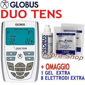 Globus DUO TENS elettrostimolatore TENS dolori bellezza riabilitazione DuoTens