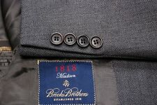 gorgeous BROOKS BROTHERS 1818 Madison gray 2B men's suit 38R 38 R - md n ITALY!!