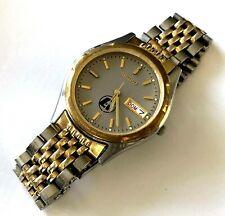 8936864989ee Para Hombres Clásicos Reloj Seiko 7n43 8199 Cuarzo Día Fecha Dos Tonos Runs