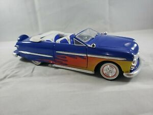 1/24 Crown Premiums Limited Edition 1950 Ford Street Rod Napa Blue Flames Bank