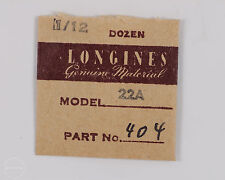 Longines Genuine Material Part #404 Stop Click for 22A