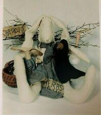 COUNTRY RABBIT & FRIENDS Doll Pattern by Sunnyknoll Folk Art & Craft NIP #30