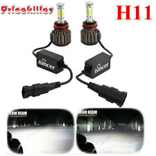 4-Sides H11 H8 H9 LED Headlight 2000W 1920000LM Bulbs High Power 6000K Canbus@