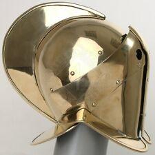 18 gauge Brass Medieval Gladiator Helmet Secutor