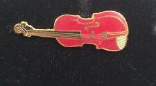 Badge Music Gift Aim74A Vintage Mini Violin Pin Brooch