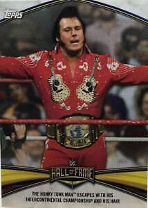 2020 Topps WWE Honky Tonk Man Hall Of Fame Insert HF-5 Road To Wrestlemania