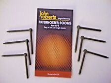 """6x John Roberts Paternoster Booms.4cms / 1.5"""" Long. Easy use Anti Tangle Booms"""