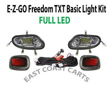 EZGO TXT VALOR Freedom 2014'-UP Basic Light Kit LED Headlights & LED Taillights