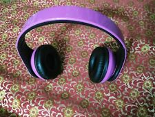 Wireless Bluetooth 4.1 Stereo Headphones Mic Audifonos Inalambricos Purple