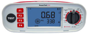 POWERTEST 200, Electrical Multifunction Tester, AU Stock, GST Inc, Same day Ship