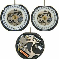 Quartz Watch Date At 3'/At 6' Movement 3-Pin Replacement Repair Parts for VX12E