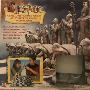 Harry Potter and the Philosophers Stone Wizard Chess Set: Original, Collectors
