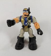 FISHER PRICE RESCUE HEROES ACTION FIGURE CAPTAIN CUFF POLICE MAN POLICE OFFICER