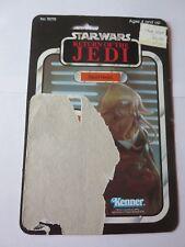 Squid Head 65 Back ROTJ Vintage Cardback FULL CARD Star Wars