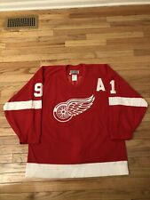 Sergei Fedorov Detroit Red Wings NHL Vintage Authentic CCM Game Jersey Men's 48