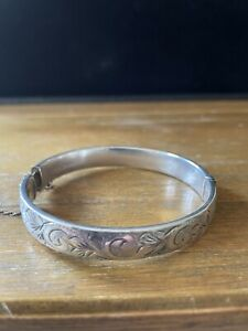 Hallmarked Silver George Jensen Bracelet