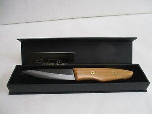 Stone River Gear Custom Black Ceramic Paring Knife