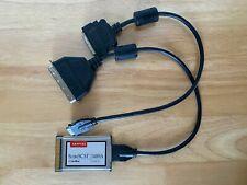 Adaptec SlimScsi 1480A CardBus Ultra Scsi-2 Adapter Pc Card w. Cn50 & Hd50 Cable