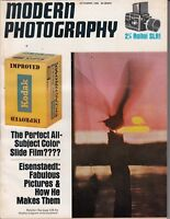 Vintage MODERN PHOTOGRAPHY Magazine Nov. 1966 , Film , 2 1/4 Rollei SLR