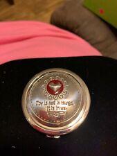 Brand New Brighton Silver Heart Pill Box Orig $25