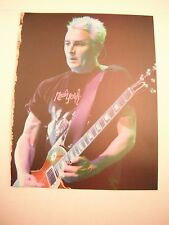 Mike McCready Pearl Jam Guitarist 12x9 Coffee Table Book Photo Page