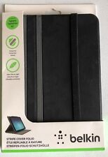 "Belkin Universal 10"" Twin Stripe Flip Cover For iPad Air and Air 2, Galaxy Tab A"