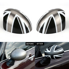 Wing Mirror Caps Cover Casing Manual Fold Union Jack For MINI COOPER R56 R58 R60