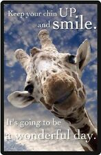 Funny Giraffe Humor Have A Wonderful Day Refrigerator Magnet