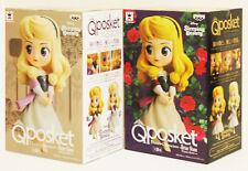 Banpresto Q Posket Qposket Disney Vol 9 Princess Aurora Briar Rose 2 Figures Set