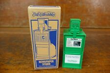Ertl 4� Newspaper Stand Vending Machine Toy Coin Bank 1/12th Scale - New In Box