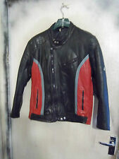 VINTAGE 70'S KETT LEATHER TWIN TRACK MOTORCYCLE JACKET SIZE 42