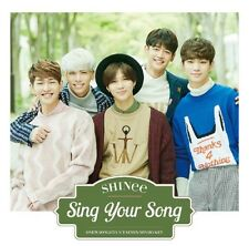 SHINee Sing Your Song single [No Photocard]
