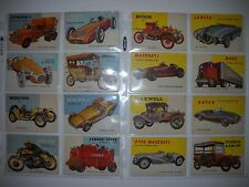 1954 WORLD ON WHEELS COMPLETE (180) CARD SET with ALL HIGH NUMBERS TOPPS