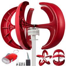 AU 600w 24v Lantern 5-blades Vertical Axis Wind Turbine Generator Controller