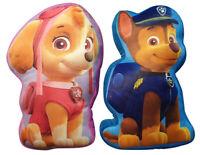 Paw Patrol Velboa-Plüschkissen, 3D-Formkissen für Kinder, Bettdekoration NEUWARE