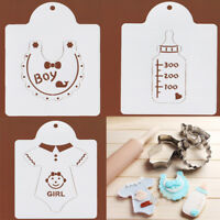 Baby Shower Stainless Cookies Cutter Fondant Cake Biscuit Pastry Baking Mold DIY