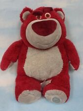 "Disney Store 16"" Toy Story 3 Lotso Huggin Bear-Strawberry Scented* Gently Used"