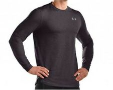 New Under Armour Men's ColdGear Fitted Long Sleeve Crew T Shirts Gray Small $50!